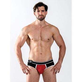 Mister B URBAN Castro Brief Red