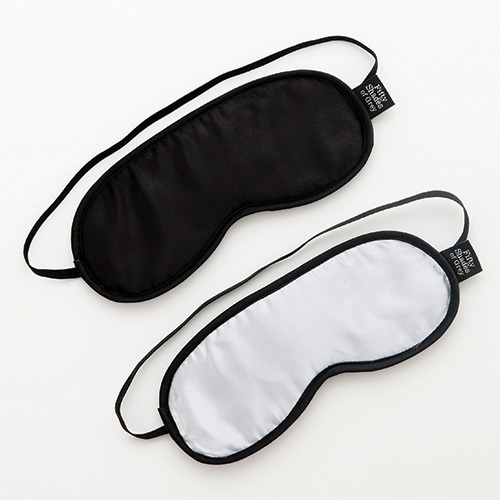 50 sfumature di grigio - set coppia di mascherine no peeking soft blindfold twin pack