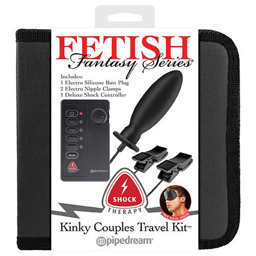 Kit plug e pinzette elettrostimolanti fetish fantasy series shock therapy kinky couples