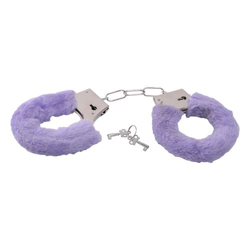 Bestseller - manette con pelliccia purple