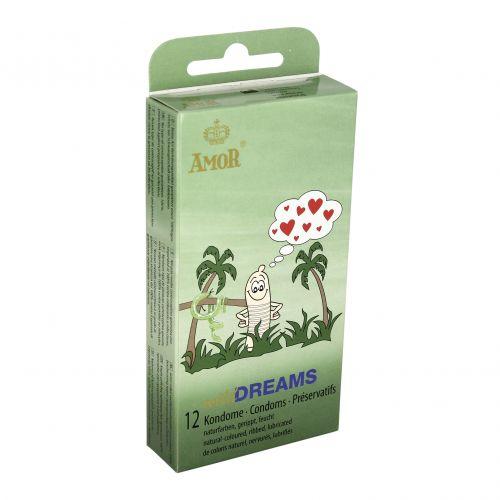 Profilattici stimolanti amor wild dreams 12 pz