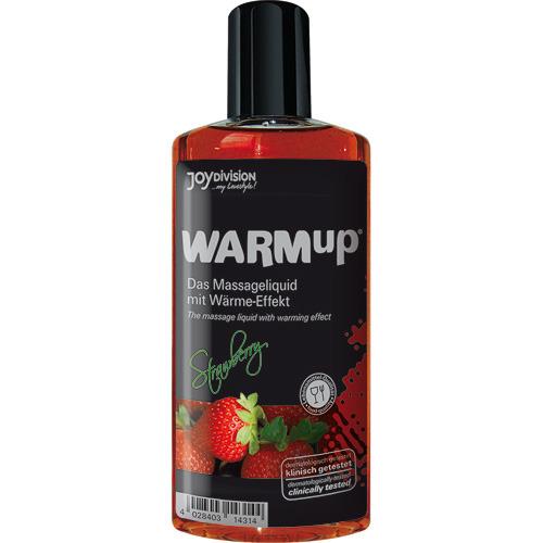 Warmup alla fragola liquido per massaggi