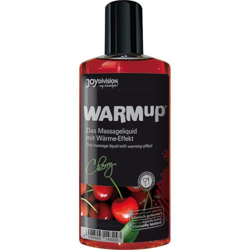 Warmup alla ciliegia liquido per massaggi