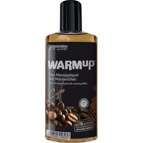 Warmup al caffe' liquido per massaggi 150 ml