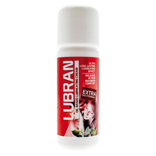 Lubrificante anale lubran red oil 30 ml