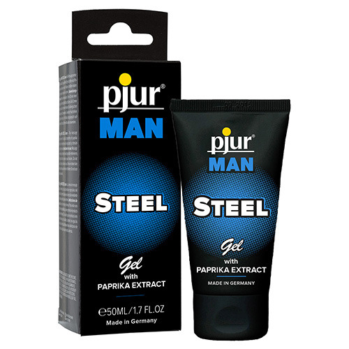 Gel rinvigorente pjur man steel gel