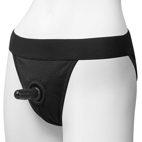 Imbracatura per strap on panty harness vac-u-lock full back l/xl