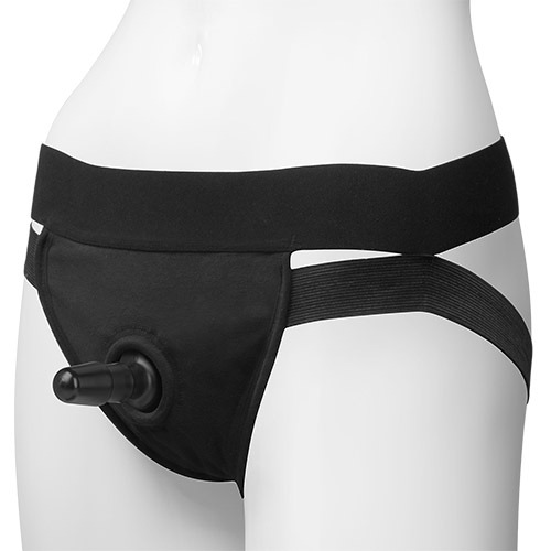 Imbracatura per strap on panty harness vac-u-lock dual strap l/xl