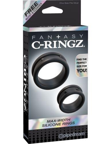 Kit anelli fallici fantasy c-ringz max-width silicone rings
