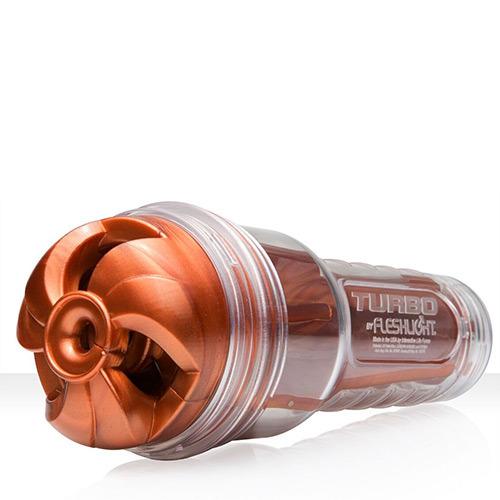Masturbatore sesso orale fleshlight turbo thrust copper
