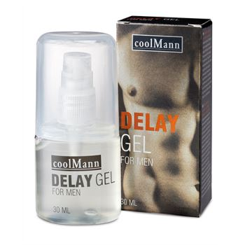 GEL RITARDANTE PER UOMO COOLMANN 30 ML
