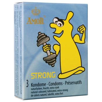 PROFILATTICO ANALE AMOR STRONG 3 PZ