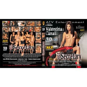 hot secretary - film hard 3d blu-ray
