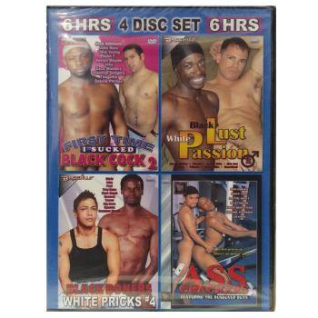 Interracial Sexfest (Set 4 DVD)