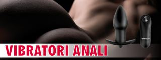 VIBRATORE ANALE sexy shop
