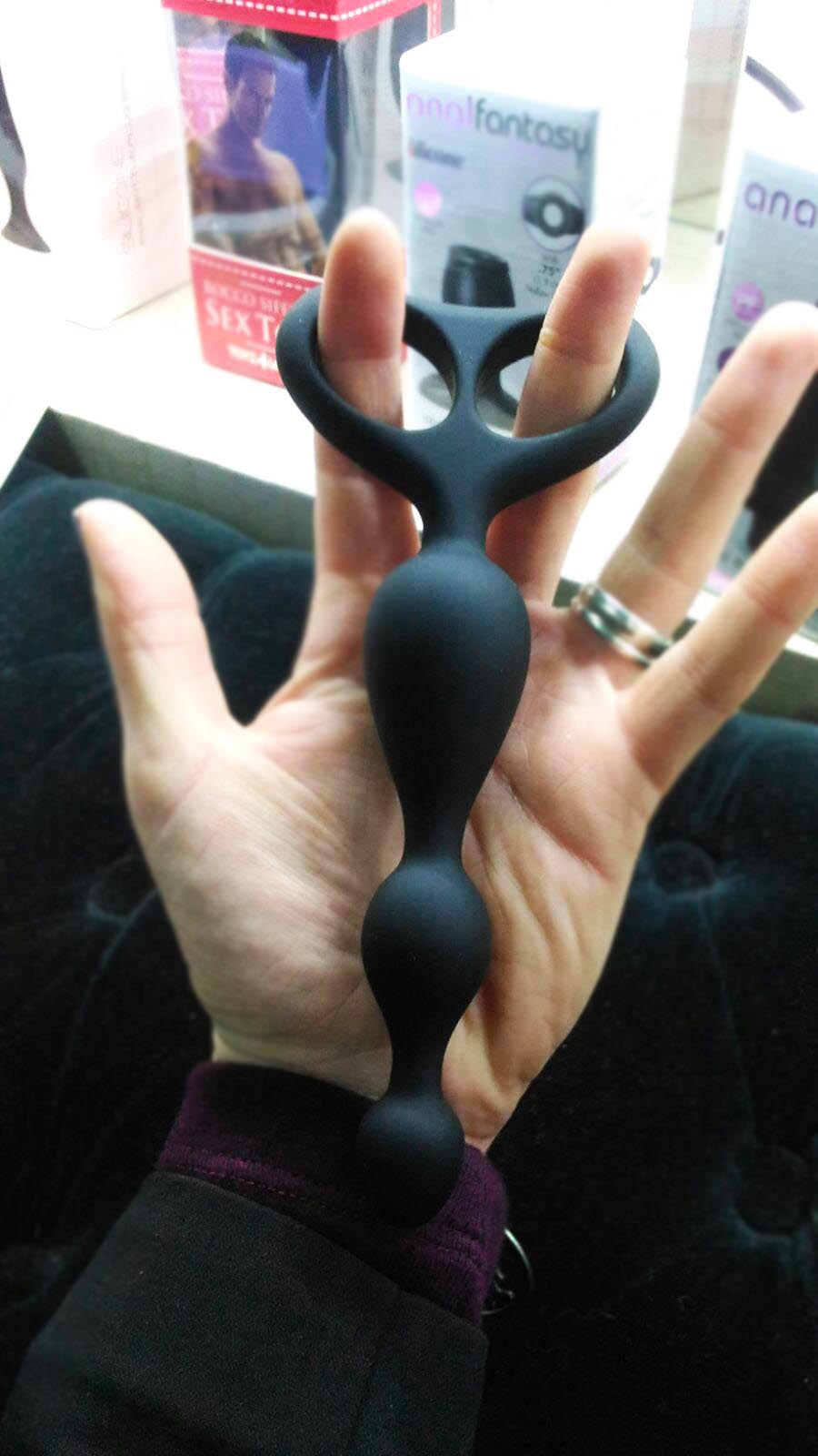 palline anali in silicone